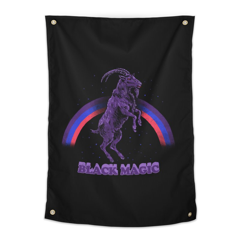 Black Magic Home Tapestry by hillarywhiterabbit's Artist Shop