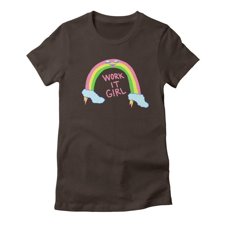 Skylish Women's Fitted T-Shirt by hillarywhiterabbit's Artist Shop