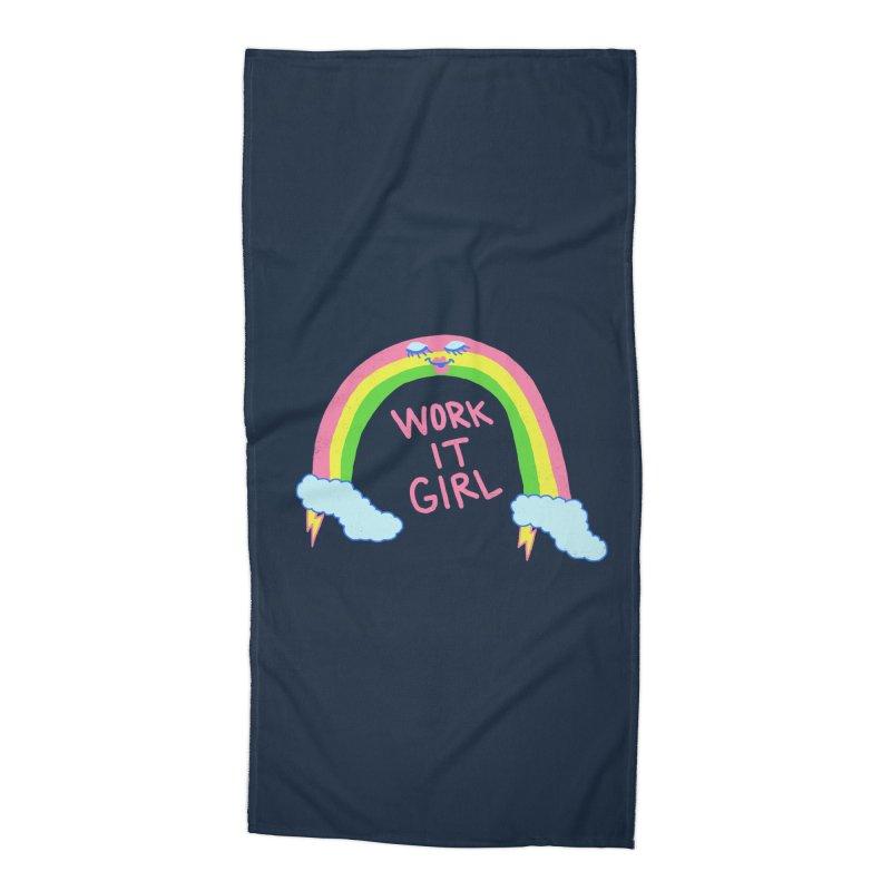Skylish Accessories Beach Towel by hillarywhiterabbit's Artist Shop