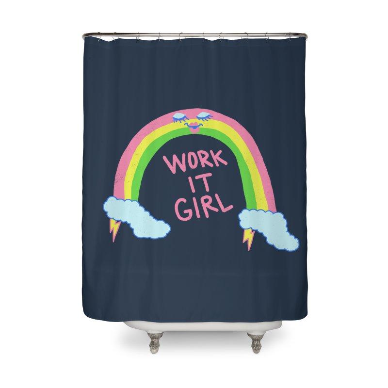 Skylish Home Shower Curtain by hillarywhiterabbit's Artist Shop