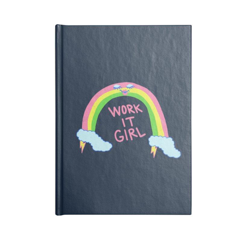Skylish Accessories Notebook by hillarywhiterabbit's Artist Shop