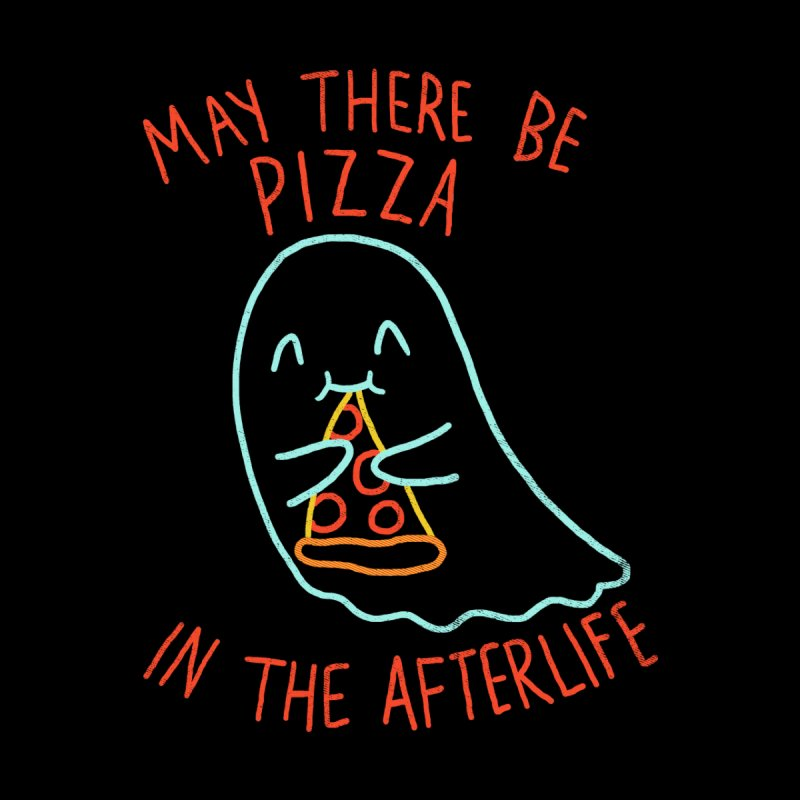 Pizza In The Afterlife Accessories Water Bottle by hillarywhiterabbit's Artist Shop