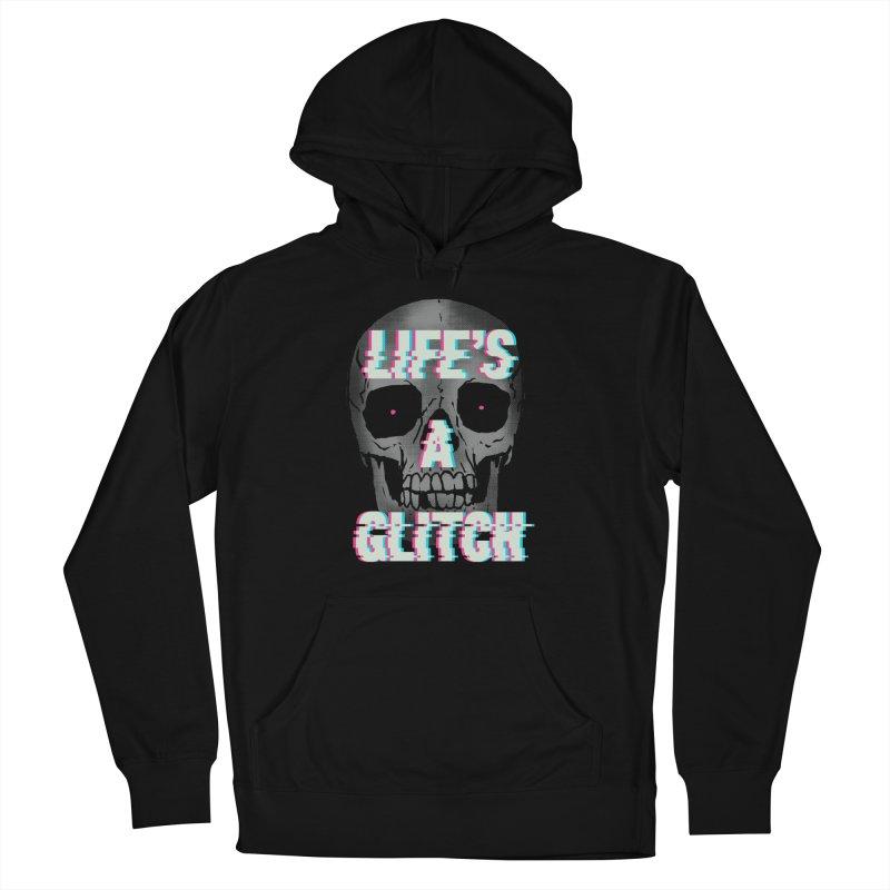 Life's A Glitch Men's Pullover Hoody by hillarywhiterabbit's Artist Shop