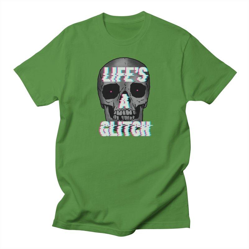 Life's A Glitch Men's T-Shirt by hillarywhiterabbit's Artist Shop
