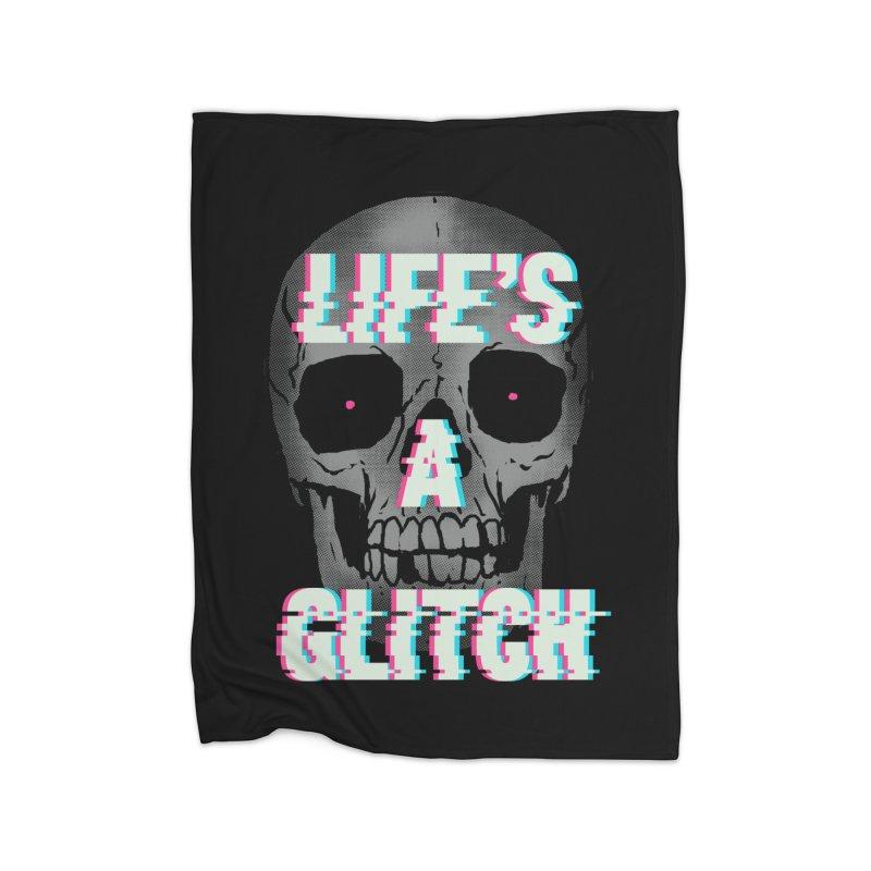 Life's A Glitch Home Blanket by hillarywhiterabbit's Artist Shop