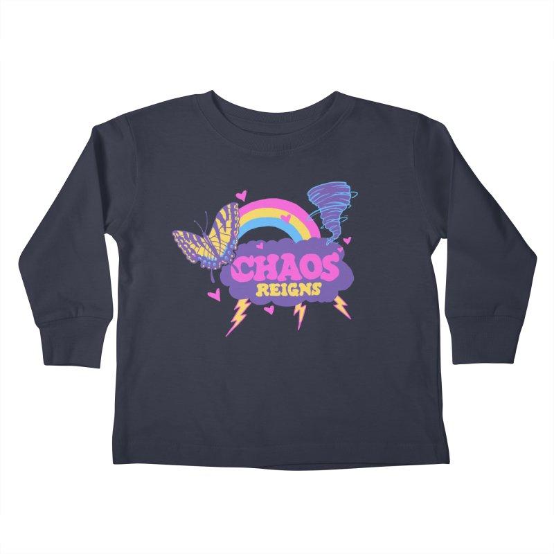 Chaos Kids Toddler Longsleeve T-Shirt by hillarywhiterabbit's Artist Shop