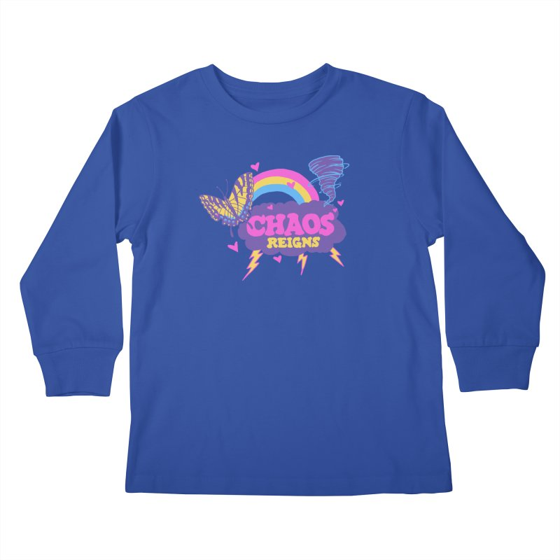 Chaos Kids Longsleeve T-Shirt by hillarywhiterabbit's Artist Shop