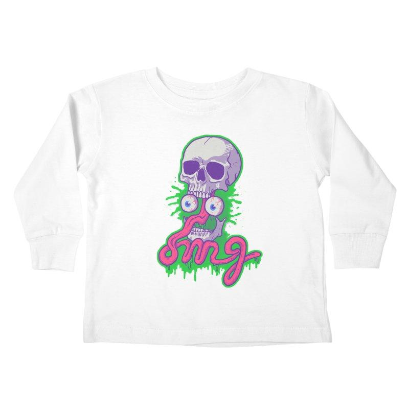 Awkward Kids Toddler Longsleeve T-Shirt by hillarywhiterabbit's Artist Shop