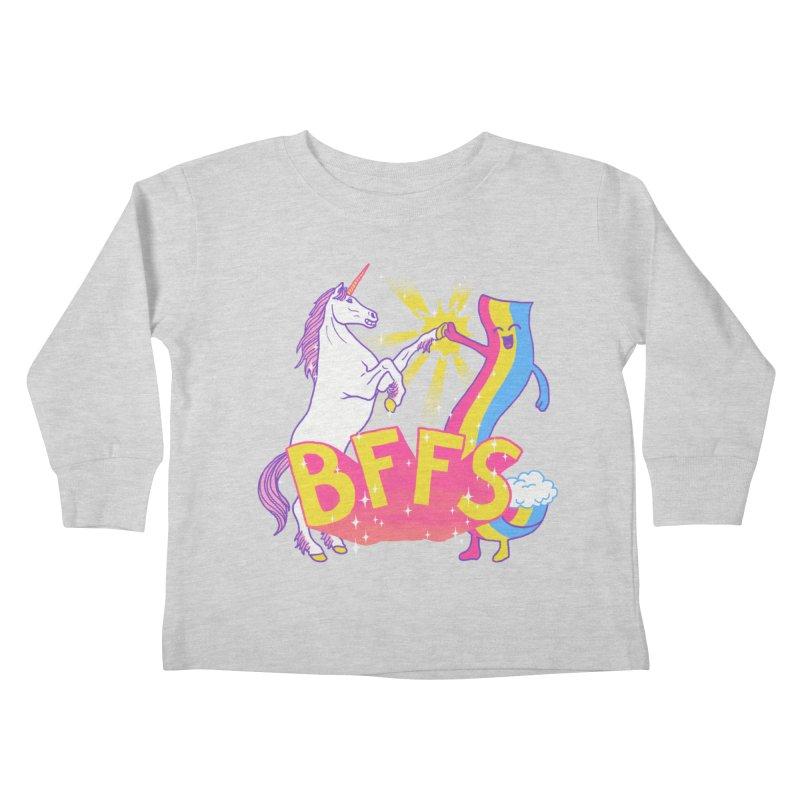 BFFS Kids Toddler Longsleeve T-Shirt by hillarywhiterabbit's Artist Shop