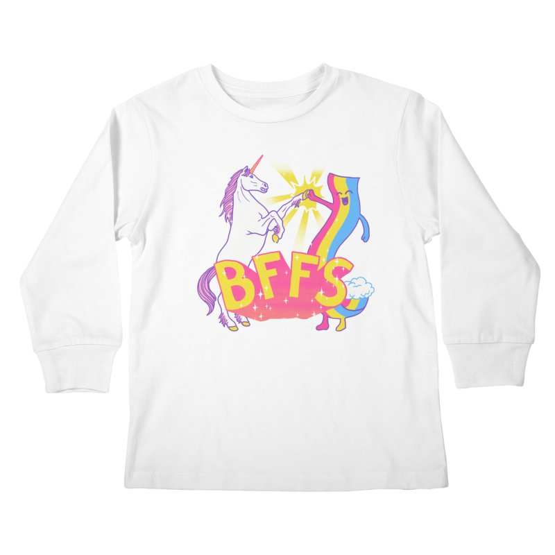BFFS Kids Longsleeve T-Shirt by hillarywhiterabbit's Artist Shop
