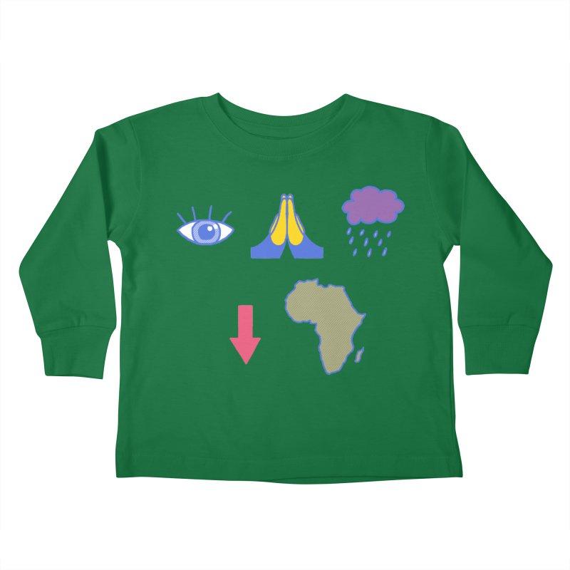 Eye Bless The Rains Kids Toddler Longsleeve T-Shirt by hillarywhiterabbit's Artist Shop