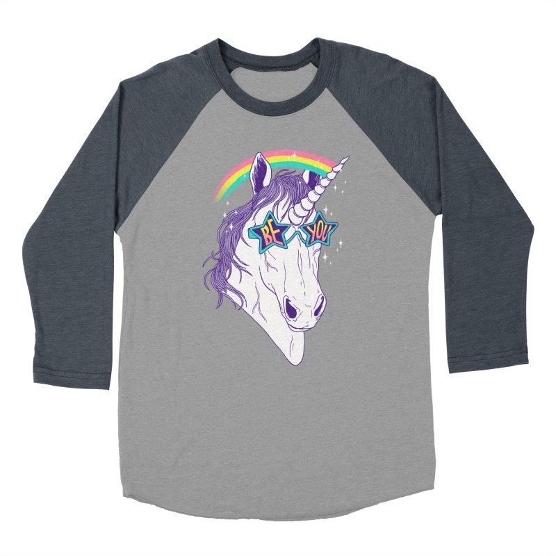 Be You Women's Baseball Triblend T-Shirt by hillarywhiterabbit's Artist Shop