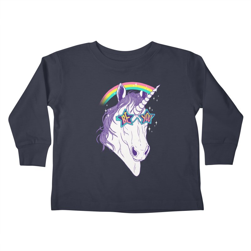 Be You Kids Toddler Longsleeve T-Shirt by hillarywhiterabbit's Artist Shop