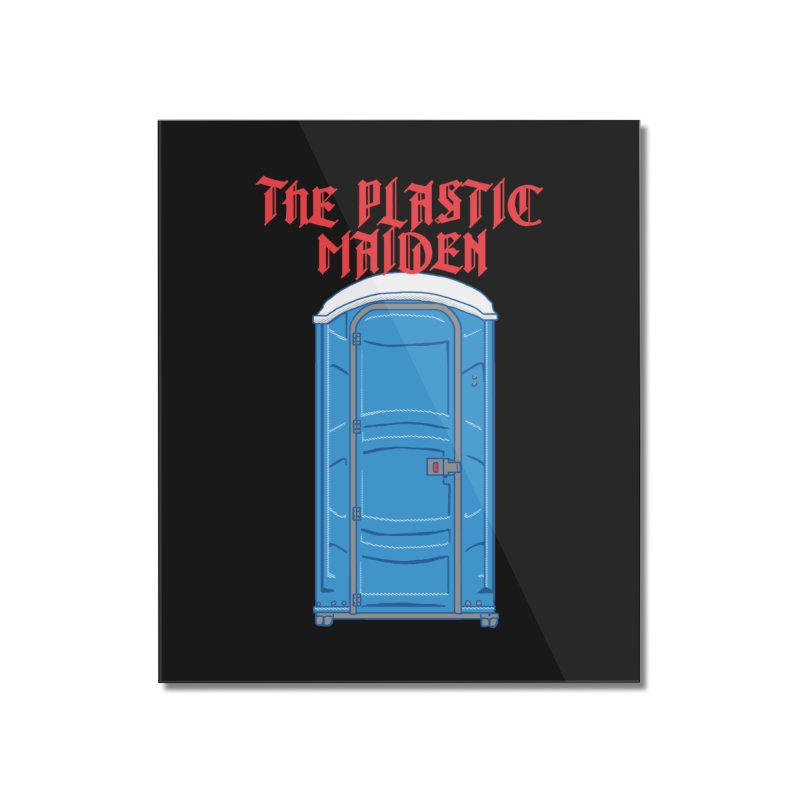 The Plastic Maiden Home Mounted Acrylic Print by hillarywhiterabbit's Artist Shop