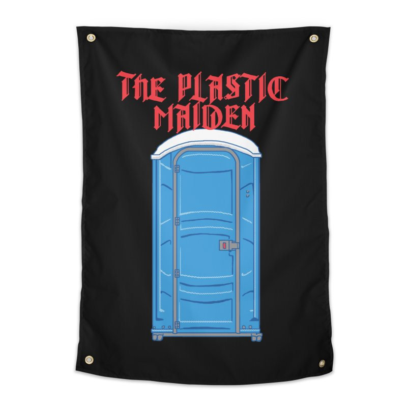 The Plastic Maiden Home Tapestry by hillarywhiterabbit's Artist Shop