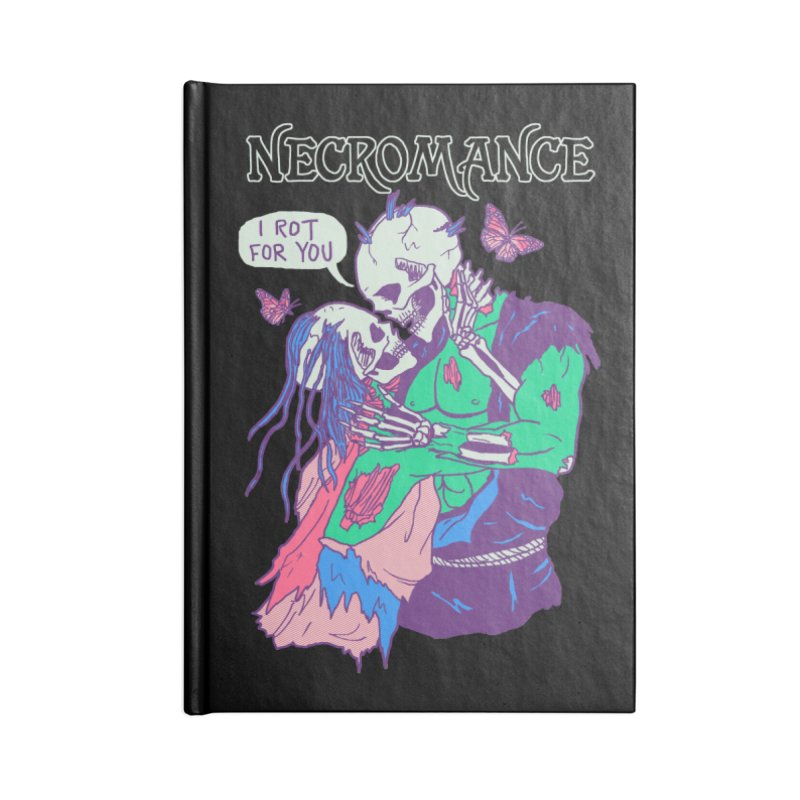 Necromance Accessories Notebook by hillarywhiterabbit's Artist Shop