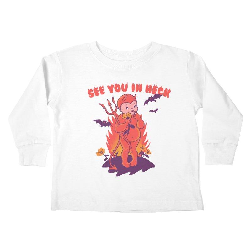 Lil' Lucy Kids Toddler Longsleeve T-Shirt by hillarywhiterabbit's Artist Shop