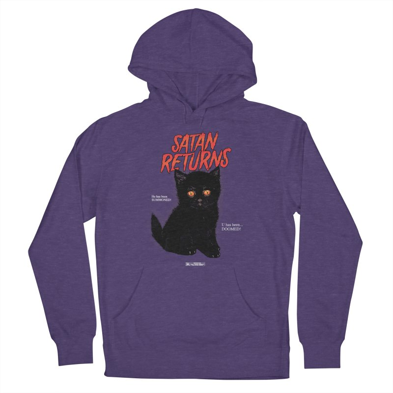 Satan Returns Men's Pullover Hoody by hillarywhiterabbit's Artist Shop