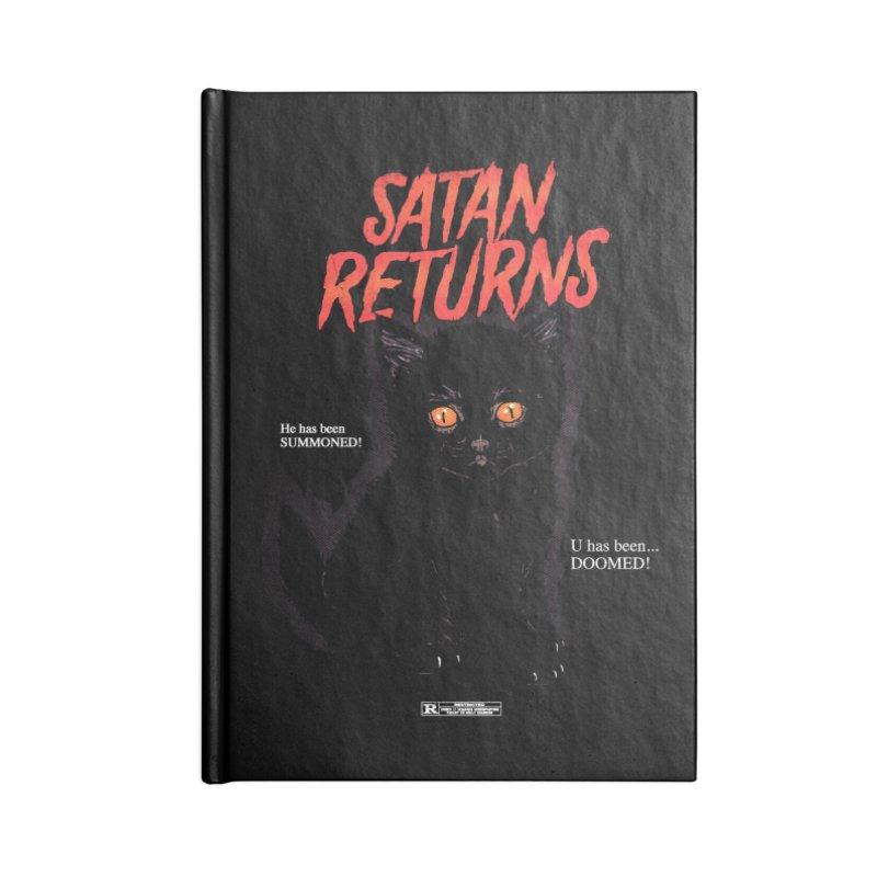 Satan Returns Accessories Notebook by hillarywhiterabbit's Artist Shop