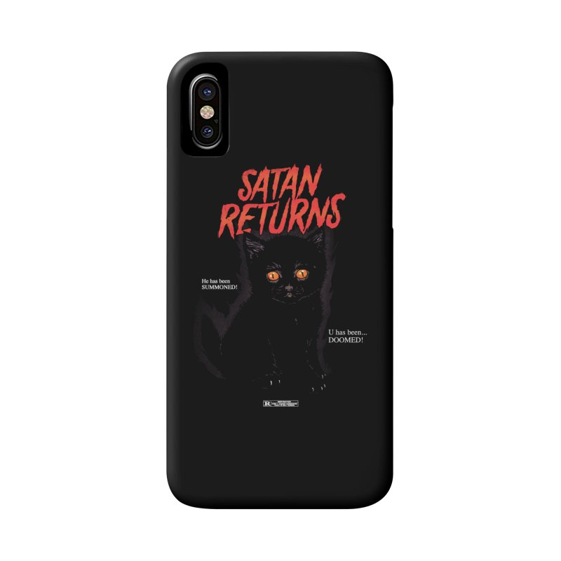 Satan Returns Accessories Phone Case by hillarywhiterabbit's Artist Shop