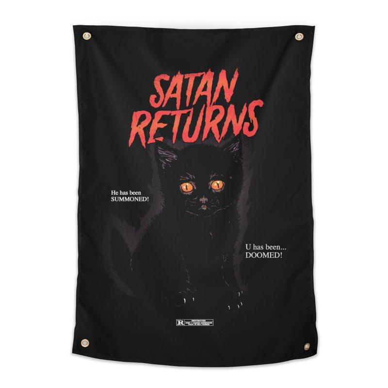 Satan Returns Home Tapestry by hillarywhiterabbit's Artist Shop