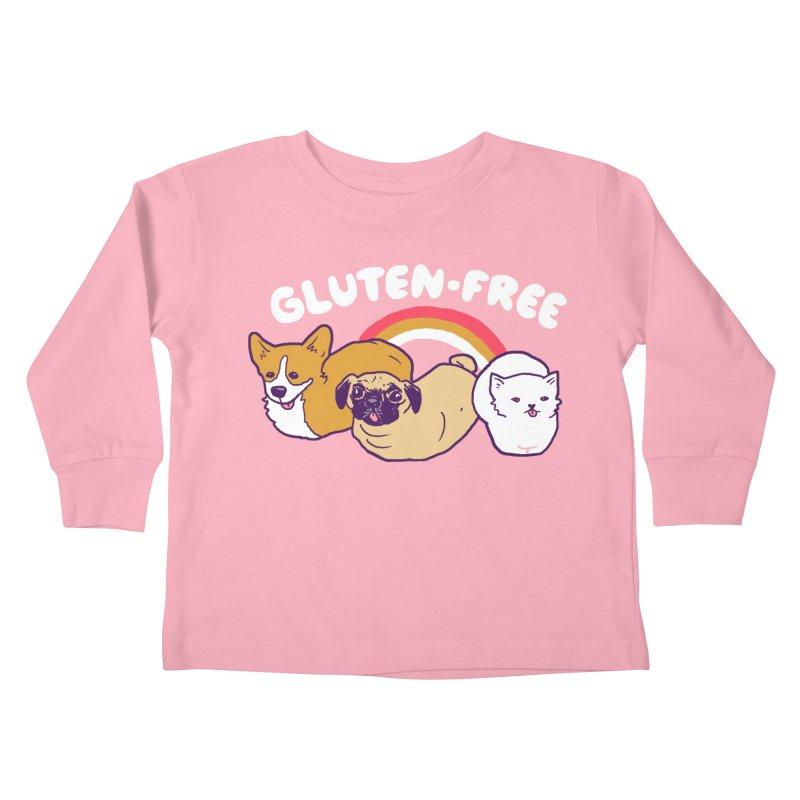 GF Loaves Kids Toddler Longsleeve T-Shirt by hillarywhiterabbit's Artist Shop