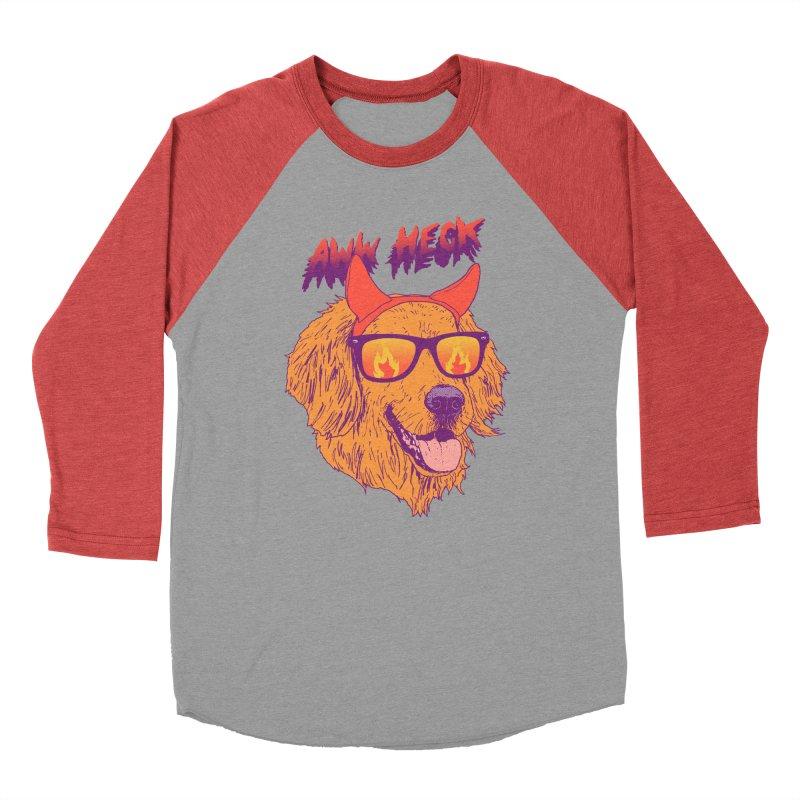 Aww Heck Women's Baseball Triblend T-Shirt by hillarywhiterabbit's Artist Shop