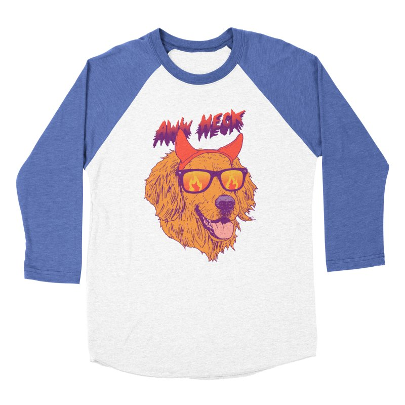 Aww Heck Men's Baseball Triblend T-Shirt by hillarywhiterabbit's Artist Shop