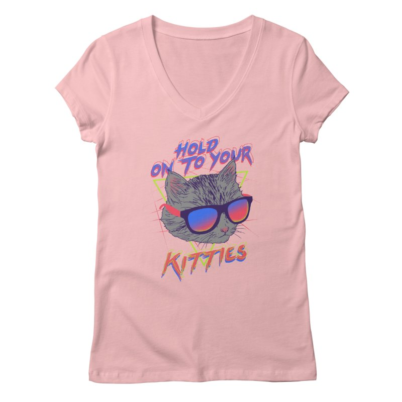 Hold On To Your Kitties Women's  by hillarywhiterabbit's Artist Shop