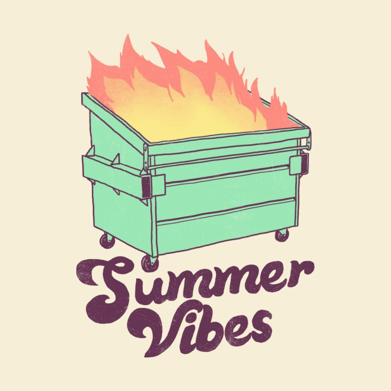 Summer Vibes by hillarywhiterabbit's Artist Shop