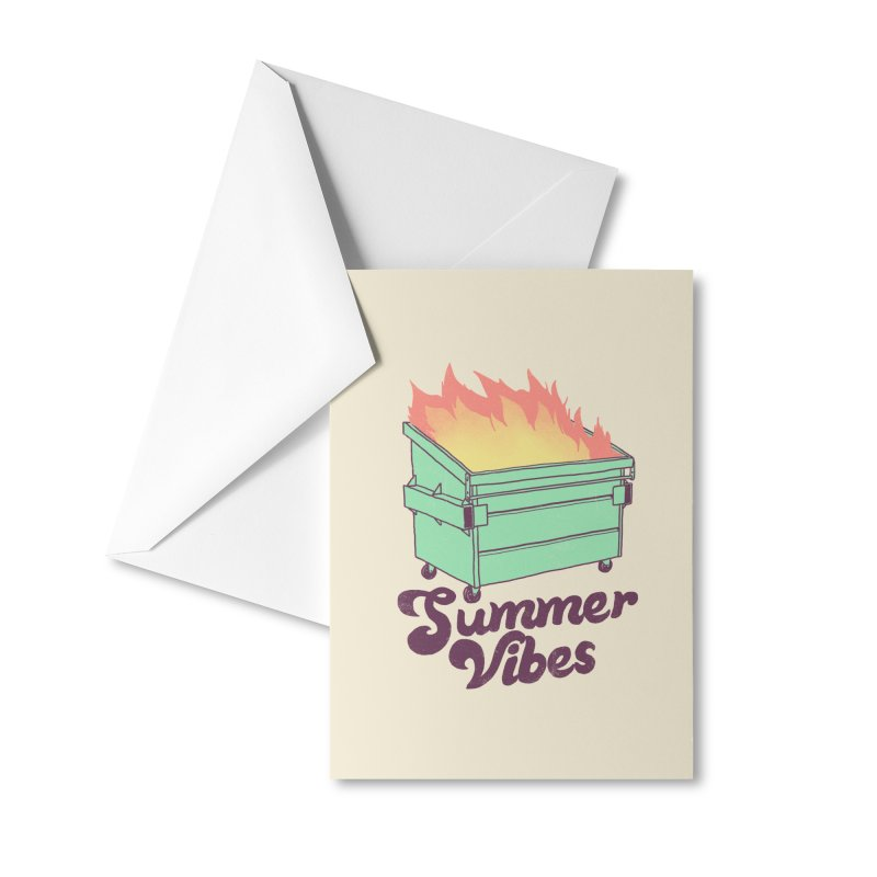 Summer Vibes Accessories Greeting Card by Hillary White Rabbit