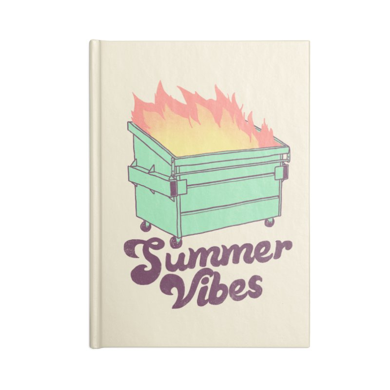 Summer Vibes Accessories Notebook by Hillary White Rabbit