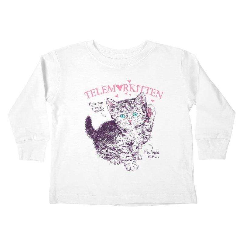 Telemarkitten Kids Toddler Longsleeve T-Shirt by hillarywhiterabbit's Artist Shop