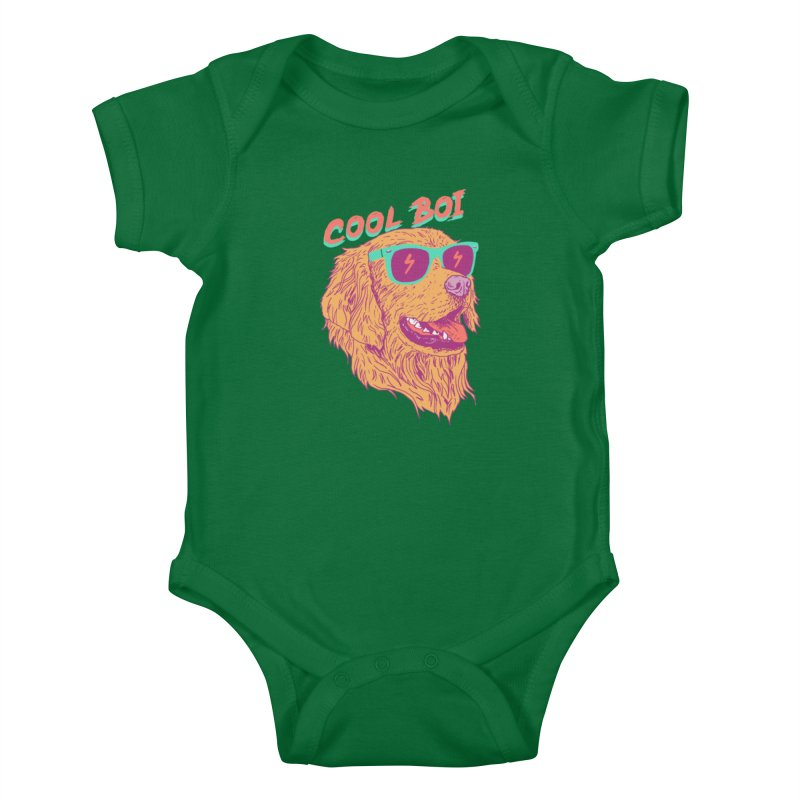 Cool Boi Kids Baby Bodysuit by hillarywhiterabbit's Artist Shop