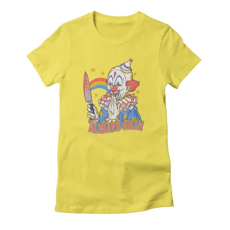 Clowns Are Silly Women's  by hillarywhiterabbit's Artist Shop