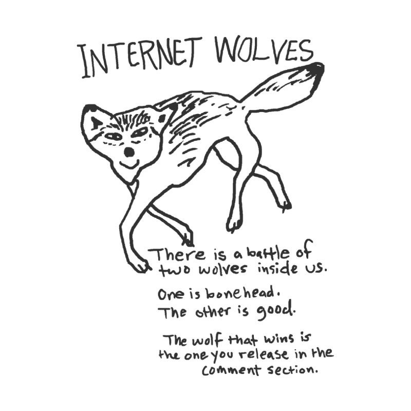 Internet Wolves by hillarywhiterabbit's Artist Shop