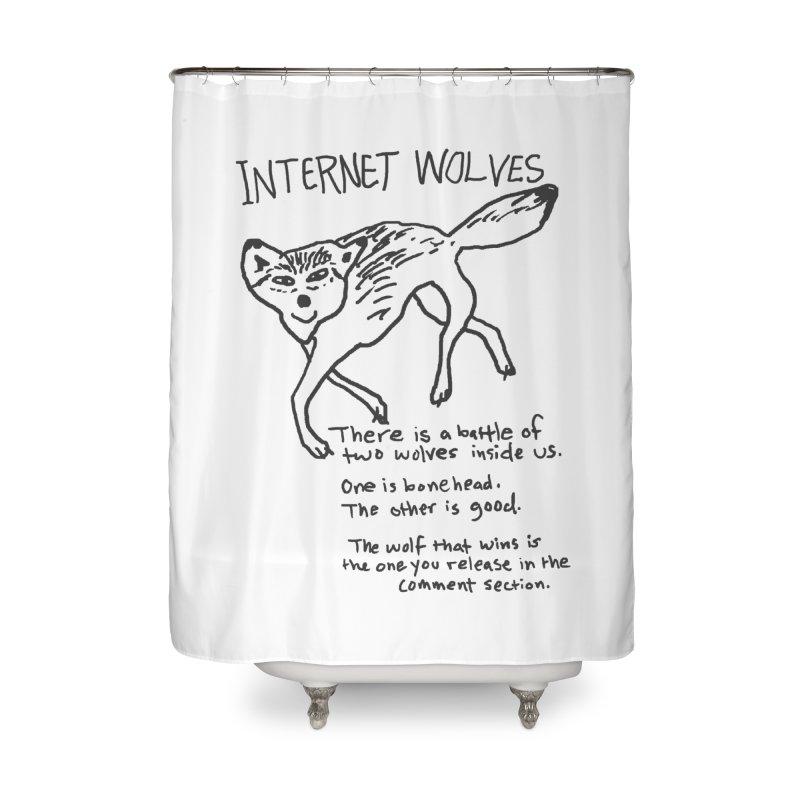 Internet Wolves Home  by hillarywhiterabbit's Artist Shop