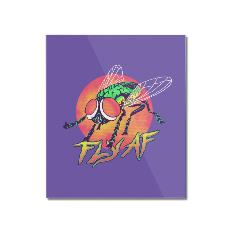 Fly AF Home Mounted Acrylic Print by hillarywhiterabbit's Artist Shop