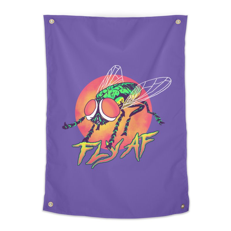 Fly AF Home Tapestry by hillarywhiterabbit's Artist Shop