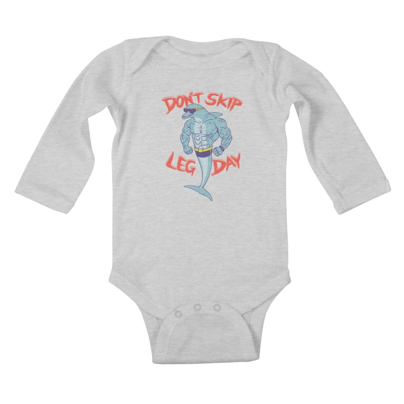 CrossPhit Kids Baby Longsleeve Bodysuit by hillarywhiterabbit's Artist Shop