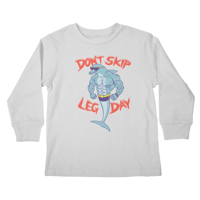 CrossPhit Kids Longsleeve T-Shirt by hillarywhiterabbit's Artist Shop