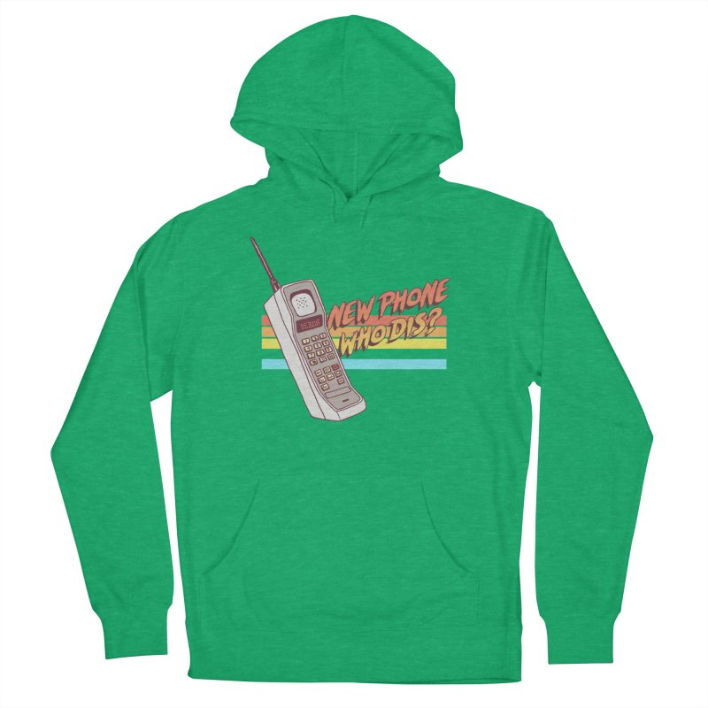 New Phone Men's French Terry Pullover Hoody by hillarywhiterabbit's Artist Shop