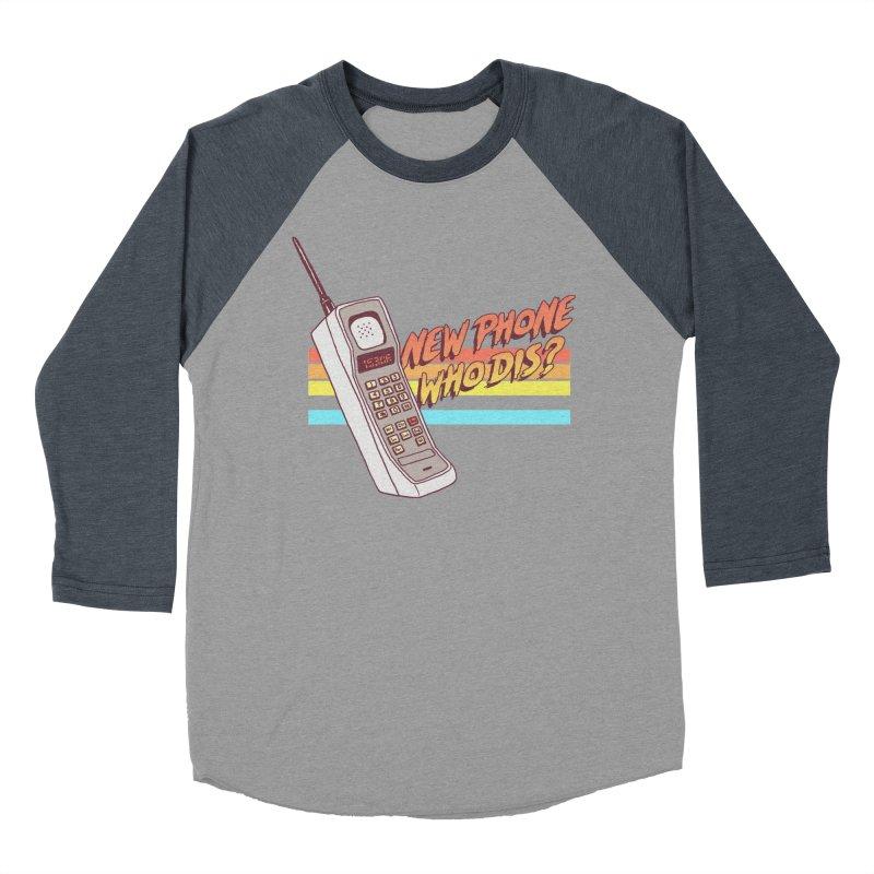 New Phone Women's Baseball Triblend Longsleeve T-Shirt by hillarywhiterabbit's Artist Shop