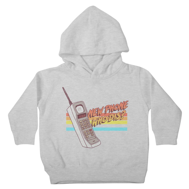 New Phone Kids Toddler Pullover Hoody by hillarywhiterabbit's Artist Shop