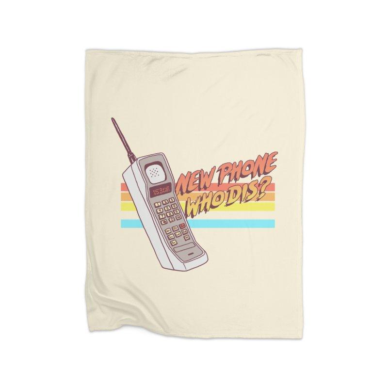 New Phone Home Blanket by hillarywhiterabbit's Artist Shop