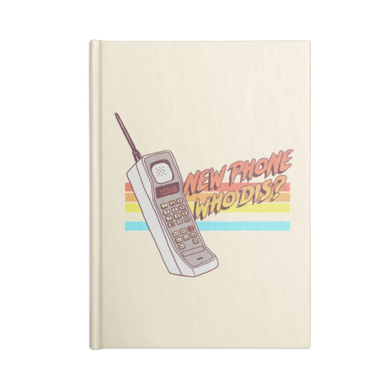 New Phone Accessories Notebook by hillarywhiterabbit's Artist Shop