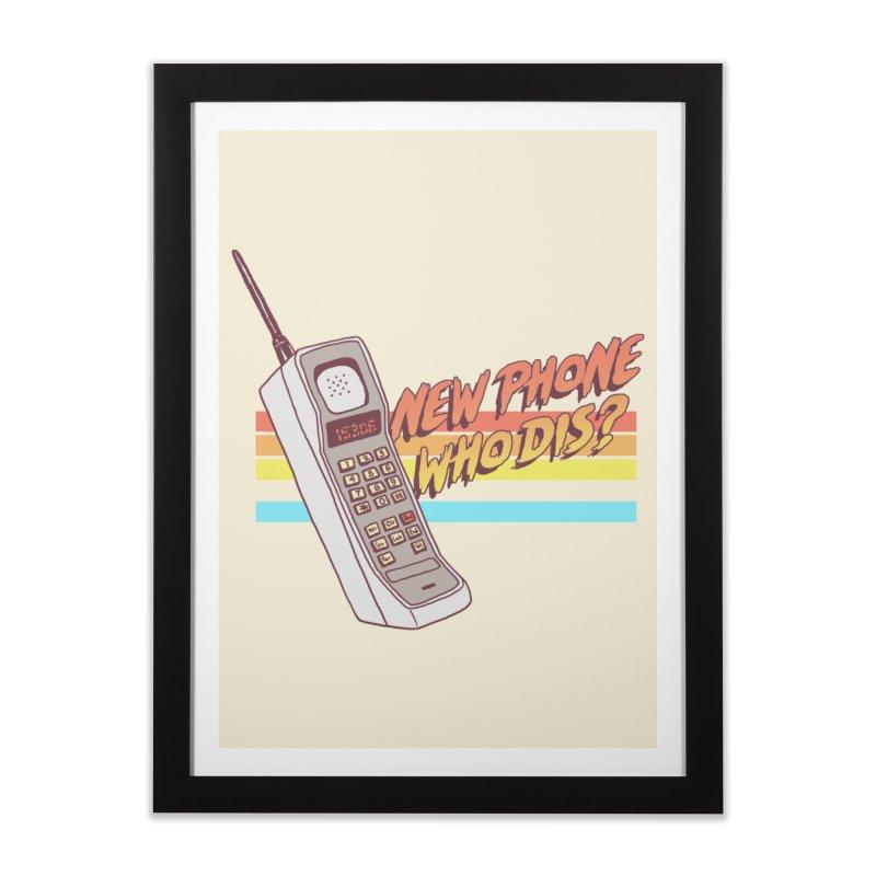 New Phone Home Framed Fine Art Print by hillarywhiterabbit's Artist Shop