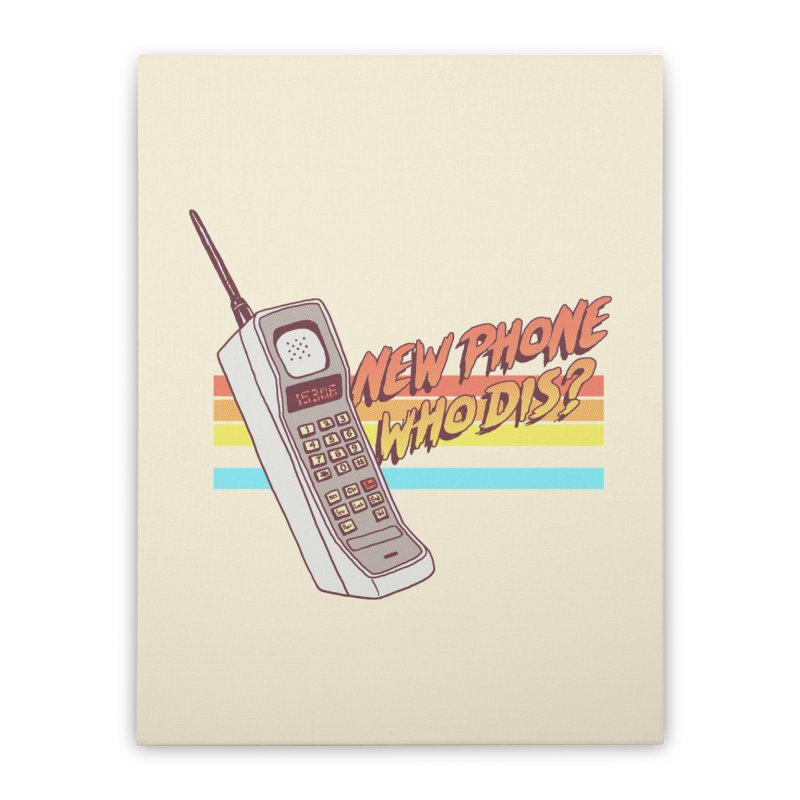 New Phone Home Stretched Canvas by hillarywhiterabbit's Artist Shop