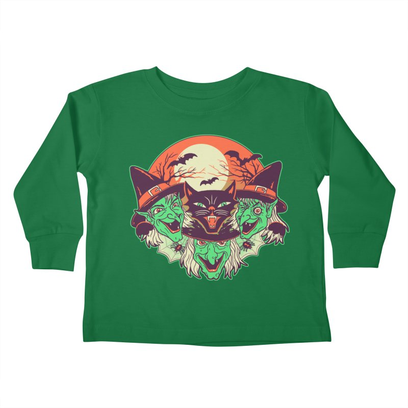 My Witches Kids Toddler Longsleeve T-Shirt by hillarywhiterabbit's Artist Shop