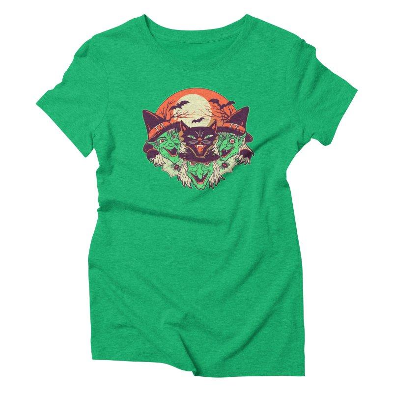 My Witches Women's Triblend T-Shirt by hillarywhiterabbit's Artist Shop
